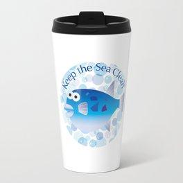 Keep the Sea Clean_Globefish Travel Mug