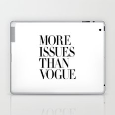 More Issues Than Vogue Laptop & iPad Skin