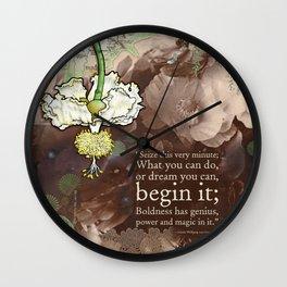 Begin it... Wall Clock