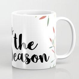 Tis the Season Christmas Lights Coffee Mug