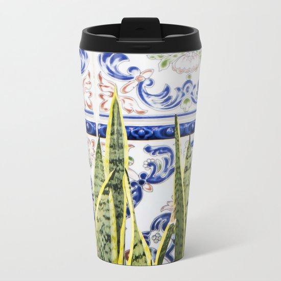 Moroccan Botany #society6 #decor #buyart Metal Travel Mug