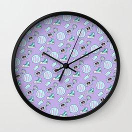 Tumblr Pattern 2 Wall Clock