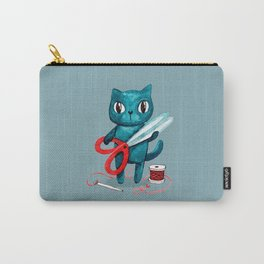 Sewing cat Carry-All Pouch