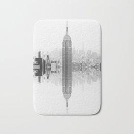 Skyline New York Architecture City Bath Mat