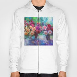 Still Life with Roses Hoody