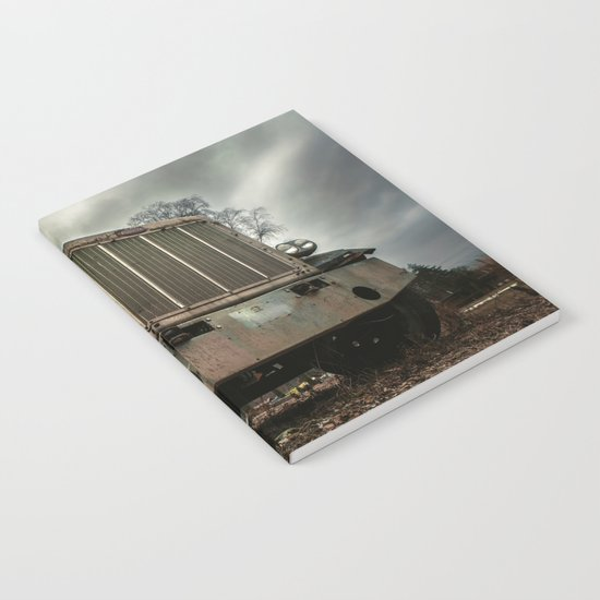 Rusty Warrior Notebook