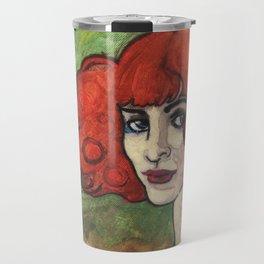 Luisa Casati (after Augustus John) Travel Mug