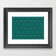 paisley pattern 3 Framed Art Print