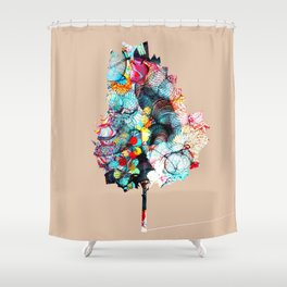 Fantasy Tree 2 Shower Curtain