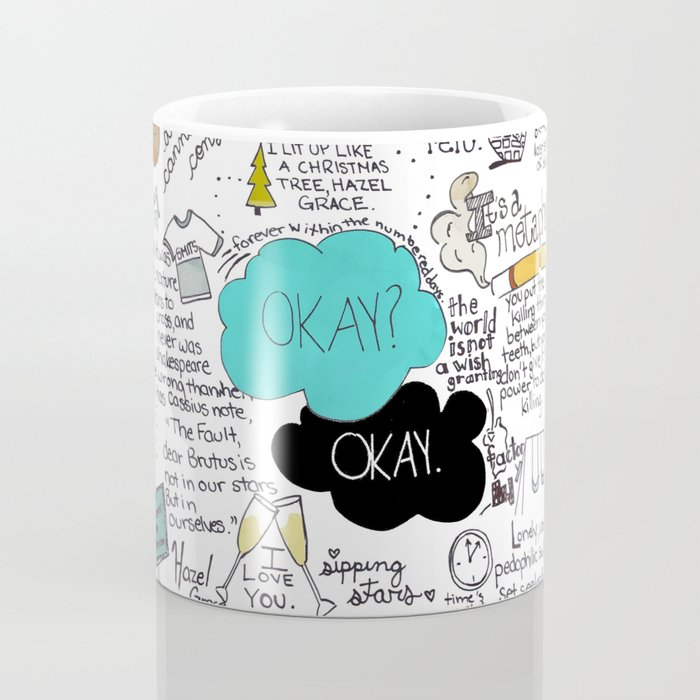 The Fault in Our Stars- John Green Coffee Mug