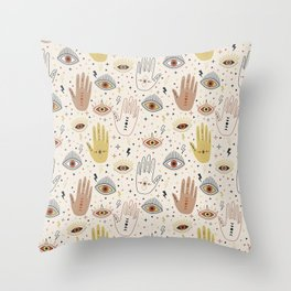 Magic Spells Throw Pillow