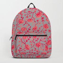 Watercolor Peonies - Coral Backpack