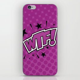 Pop WTF! iPhone Skin