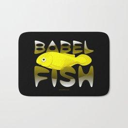 Babel fish Bath Mat