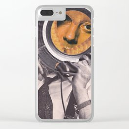 Cookie head Clear iPhone Case