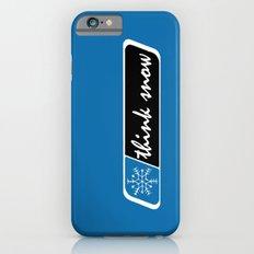 Think Snow Slim Case iPhone 6s