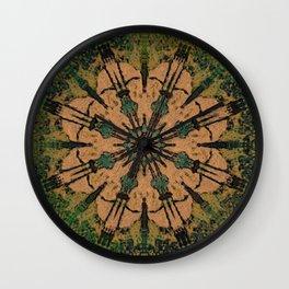 CROP CIRCLE? Wall Clock