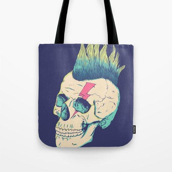 Skull Punk Tote Bag
