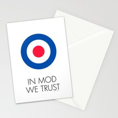 In Mod We Trust Stationery Cards