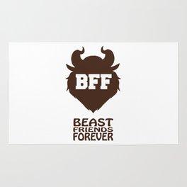 Beast Friends Forever!! - Belle (Ralph Breaks the Internet) Rug