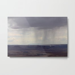 Distant Thunder in Canyonlands  Metal Print