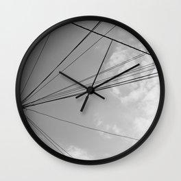 Power Pole 2 Wall Clock