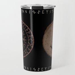 Eihwaz - Elder Futhark rune Travel Mug