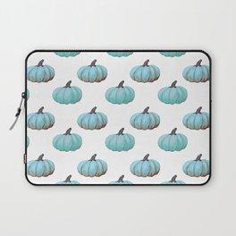 Teal pumpkins, Thanksgiving, alternative, fall Laptop Sleeve