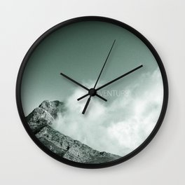 """""""Adventure at the mountain"""" Wall Clock"""