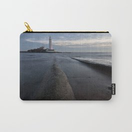 St Marys Lighthouse Carry-All Pouch