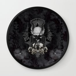 Amazing skull Wall Clock