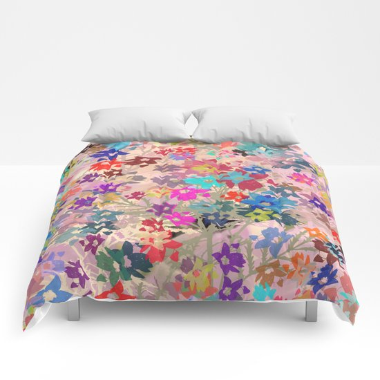 Flower carpet(41). Comforters