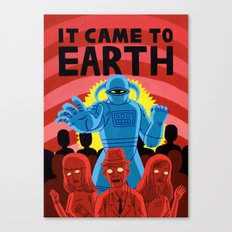 IT CAME TO EARTH Canvas Print