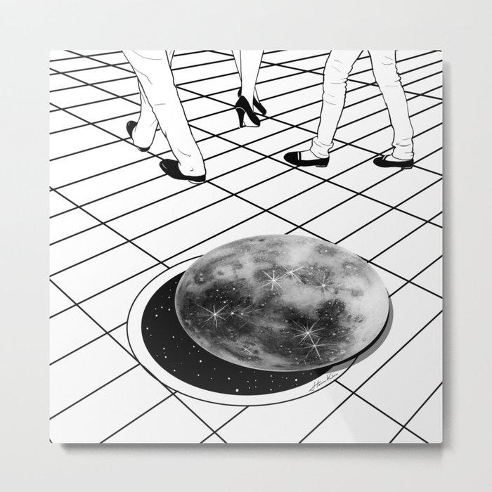 Moonhole Metal Print