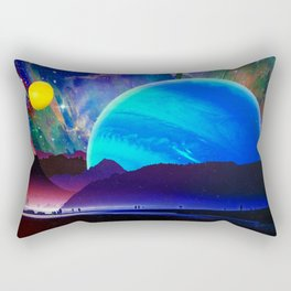 A Sunday Afternoon On The Island Of A Distant Planet Rectangular Pillow