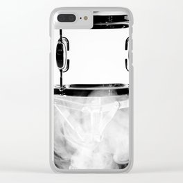 TO THE RIM Clear iPhone Case