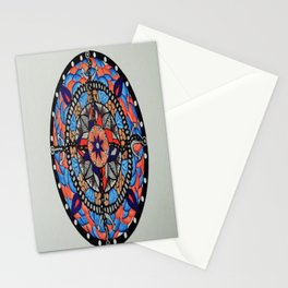 Anchors and Chains Stationery Cards