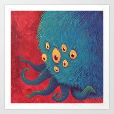 Monsters: Steve Art Print