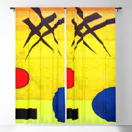 Wassily Kandinsky Signs Blackout Curtain