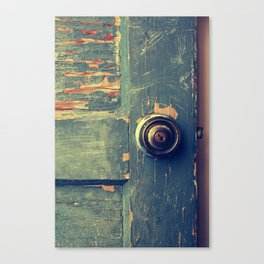 The Backdoor Canvas Print