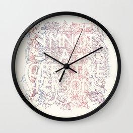 I am not a creative person Wall Clock