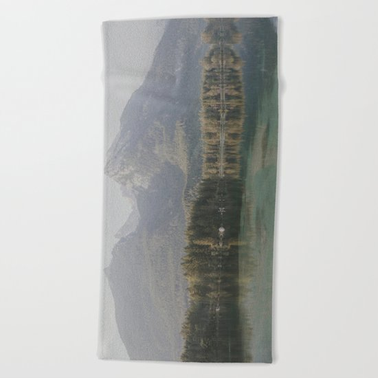 Morning Reflections Beach Towel