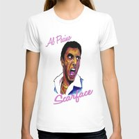 scarface T-shirts featuring Scarface by AdrockHoward
