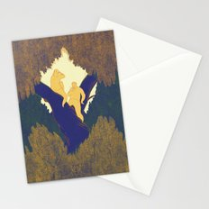 Treetop picnic Stationery Cards