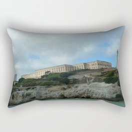 Alcatraz Island Rectangular Pillow