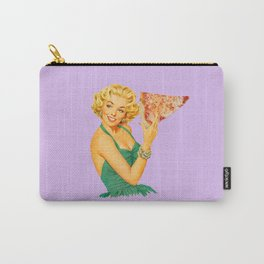 a girl's best friend lavender Carry-All Pouch