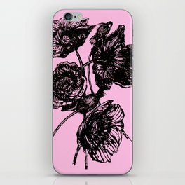 Poppies In Bloom iPhone Skin