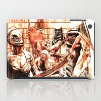 silent hill iPad Cases featuring Silent Hill by Joseph Silver