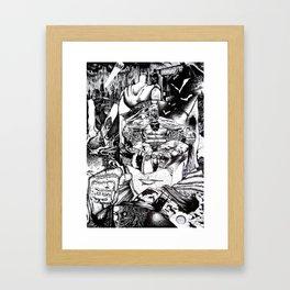 Knight & Saviour (Comic Book Fan Art) Framed Art Print