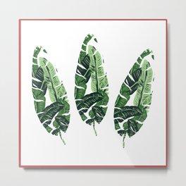 leaf within a leaf Metal Print